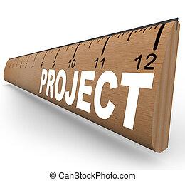 school, woord, meetlatje, -, kunsten, plan, handwerken,...