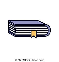 schoolboek, online onderwijs, leren