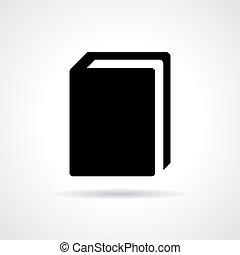 schoolboek, pictogram