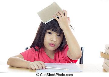 schoolgirl, cansadas