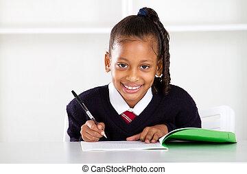schoolgirl, cute, primário