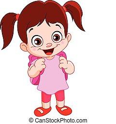 Schoolgirl - Cute schoolgirl