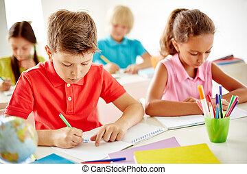 schoolkids, desenho