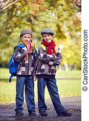 schoolkids, tvilling