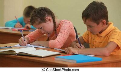 schoolwork