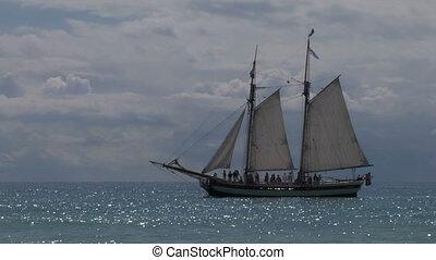 schooner harbor 04 - A schooner