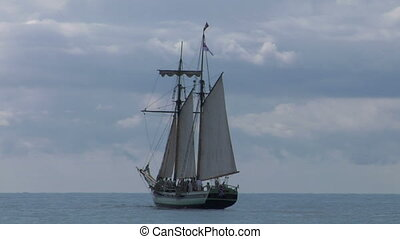 schooner part 1 - A sailing vessel (part 1)