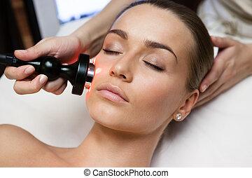 schoonheid spa, behandeling