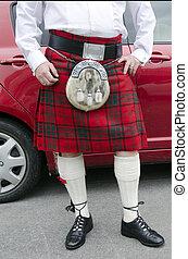 schottenrock, schottische