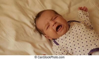 schreeuwende baby, pasgeboren