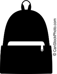 schule, schultasche, bagpack, oder