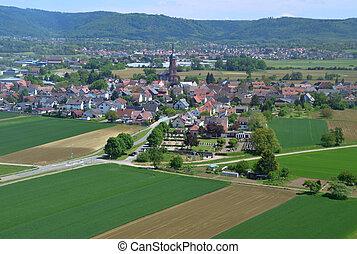 Schuttern, Ortenau aerial