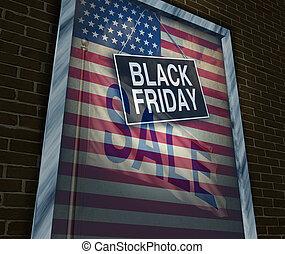 schwarz, freitag, feiertag