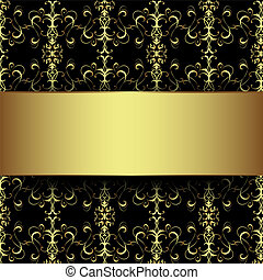 gold schwarz luxus hintergrund hintergrund vektor vektor illustration suche clipart. Black Bedroom Furniture Sets. Home Design Ideas