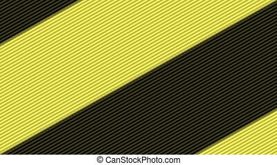 schwarz, streifen, unendlich, gelber , zoom