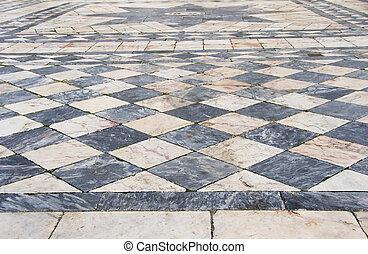 Fußboden Schwarz Weiß ~ Küchenboden fliesen schwarz weiß steffan immobilien agentur