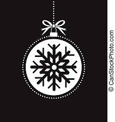 kugel wei es schwarz hand drawn weihnachten sch ne eps vektoren suche clipart. Black Bedroom Furniture Sets. Home Design Ideas