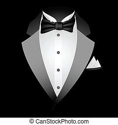 schwarzer tuxedo