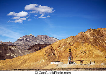 Schwaub Peak in the Funeral Mountains at Death Valley National Park