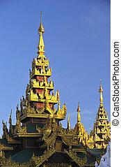 Schwedagon Paya,Yangon,Burma