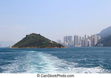 schwefel, kanal, hongkong