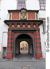 Schweizer Tor, Hofburg, Wien - Schweizer Tor Gate at Hofburg...