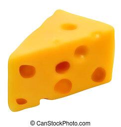 schweizisk, cheese., vektor