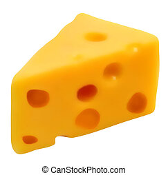 schweizisk, vektor, cheese.