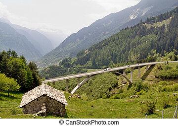 schweiziske alps