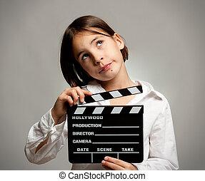 schwengel, film, m�dchen, brett
