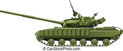 schwer , modern, tank