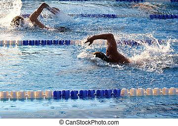 schwimmender