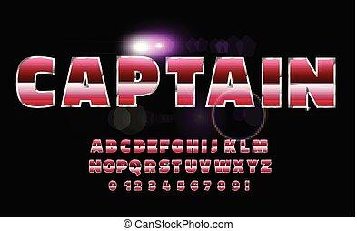 sci-fi, alphabet, avenir, retro, font., 80, style.