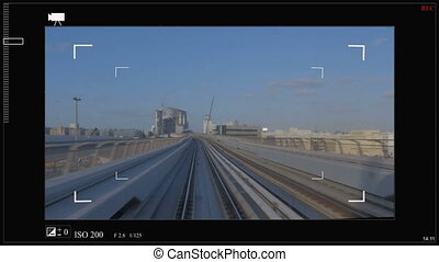 Sci fi is a custom futuristic viewfinder interface for photo...