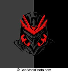 SCI-FI Ninja For Apparel logo, mechandise logo, jersey logo...