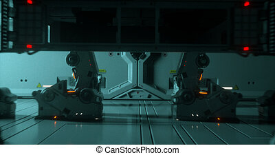 Sci-fi spaceship 5