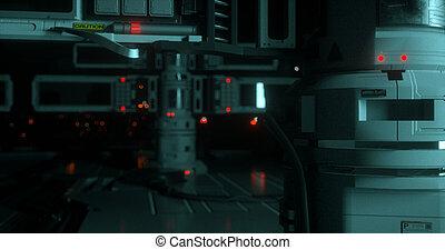 Sci-fi spaceship 6