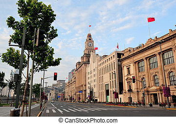 sciangai, storico, architettura