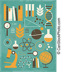 Science and Education Collection - A set of science and...
