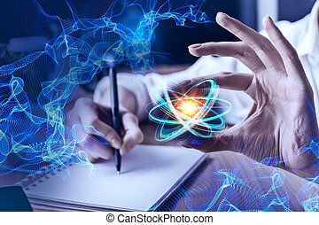 Science and technology concept