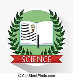 science biology book learn school