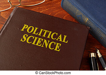 science, bureau., livre, politique, titre