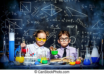 science choldren
