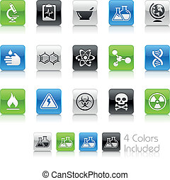 Science / Clean - The EPS file includes 4 color versions for...