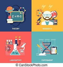 Science Decorative Icon Set