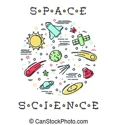 science, espace illustration