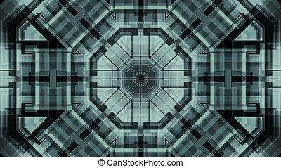 Science Fiction Geometric Loop B27