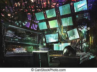 science-fiction, kreativ, arbeitsbereich