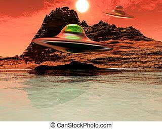 science-fiction - science fiction illustration