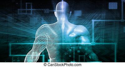 science, futuriste